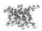 Minefield - Chrome Stock Illustration