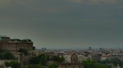 Buda castle Budapest Stock Footage