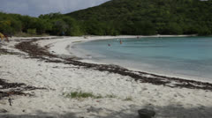 Stock Video Footage of island beach timelapse 400%