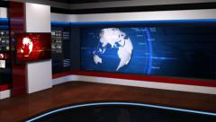 News studio_054 Stock Footage