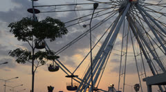 Ferris wheel - stock footage