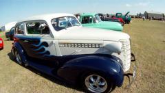 Classic Car Hotrod Stock Footage