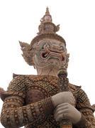 giant symbol, temple - stock photo