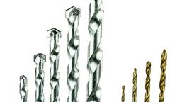Sets of Drill Bits - stock photo