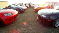Mazda Miata Stock Footage