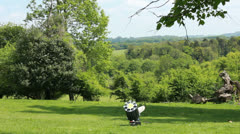 Shooting in the English countryside (1) Stock Footage