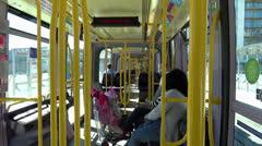 Luas Tram 5 Stock Footage