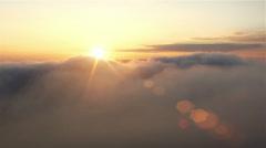 Mystic sunrise - stock footage
