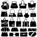 Purse Collage Stock Illustration
