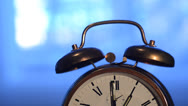 Stock Video Footage of alarm clock rings