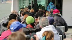 Tourists on City Tour, New York Stock Footage