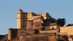 Rajasthan Kumbhalgarh fort c Stock Footage