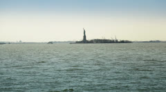 Statue of Liberty Manhattan, New York Stock Footage
