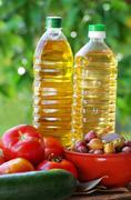 ingredients of mediterranean cuisine - stock photo