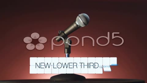 After Effects Project - Pond5 Lower Third Airport 24389831
