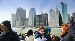 Skyscrapers of Manhattan, New York Stock Footage