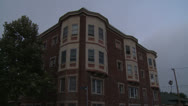 Stock Video Footage of Apartment, Tilt Down