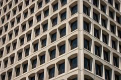 Office building corner view Stock Photos