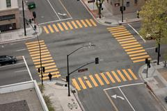Street intersection Stock Photos