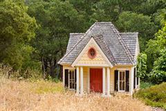 Victorian playhouse Stock Photos