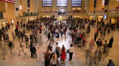 Grand Central Station Time Lapse, New York Stock Footage