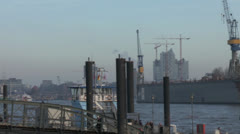 Port of Hamburg Stock Footage