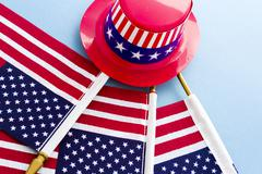 Stock Photo of fourth of july