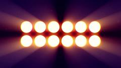 Floodlight for concert venues 1 Stock Footage