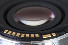 Backside lens Stock Photos