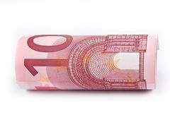 Stock Photo of ten euro