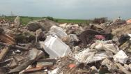 Stock Video Footage of Pov of Walking in Garbage, Pollution, Polluted Area