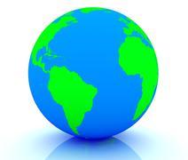 Earth Globe - stock illustration
