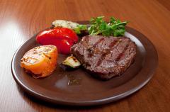steak chorizo - stock photo
