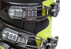 Clasps ski shoe Stock Photos