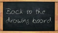 Back to the Drawing Board - stock footage