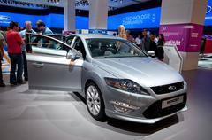 Ford focus titanium s 2.2 tdci Stock Photos