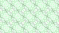 Square & rhombus mosaics tile background. Stock Footage