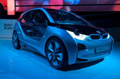 bmw i3c oncept car - stock photo