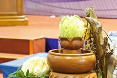 Cantaloup carving 14 Stock Photos