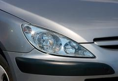 Headlights Stock Photos
