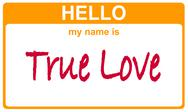 Stock Illustration of name true love