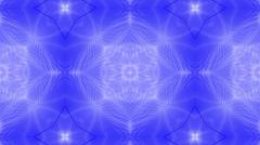 Flower fancy pattern,disco fiber optic neon background. Stock Footage