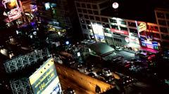 Night city. Stock Footage
