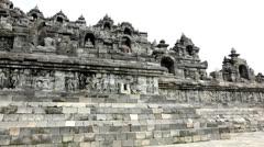 Prambanan temple Stock Footage