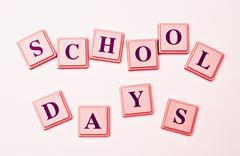 Your School Days - stock photo