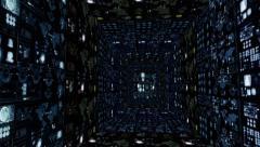 SCIFI Cubes - stock footage