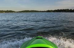 Jetski on lake norman Stock Photos