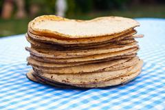 Tortillas from yucatan Stock Photos