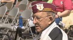 World War II veteraani Arkistovideo