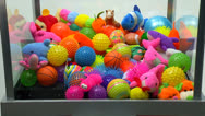Stock Video Footage of claw machine